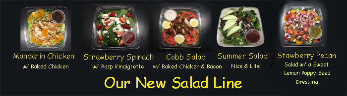 New line of salads