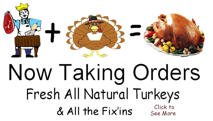 Order for Thanksgiving